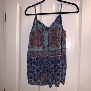 Collective concepts tank style blouse